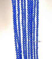 2mm Azura Blue Gemstone Blue Diamond Hexagon 1.5-2mm Loose Beads 16