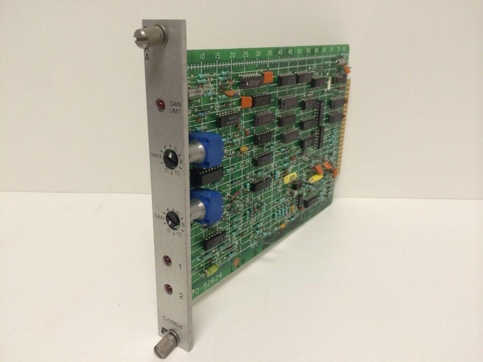 GUARANTEED GOOD USED RELIANCE ELECTRIC ELECTRIC GAIN LOSS BOARD MODULE 0-52824