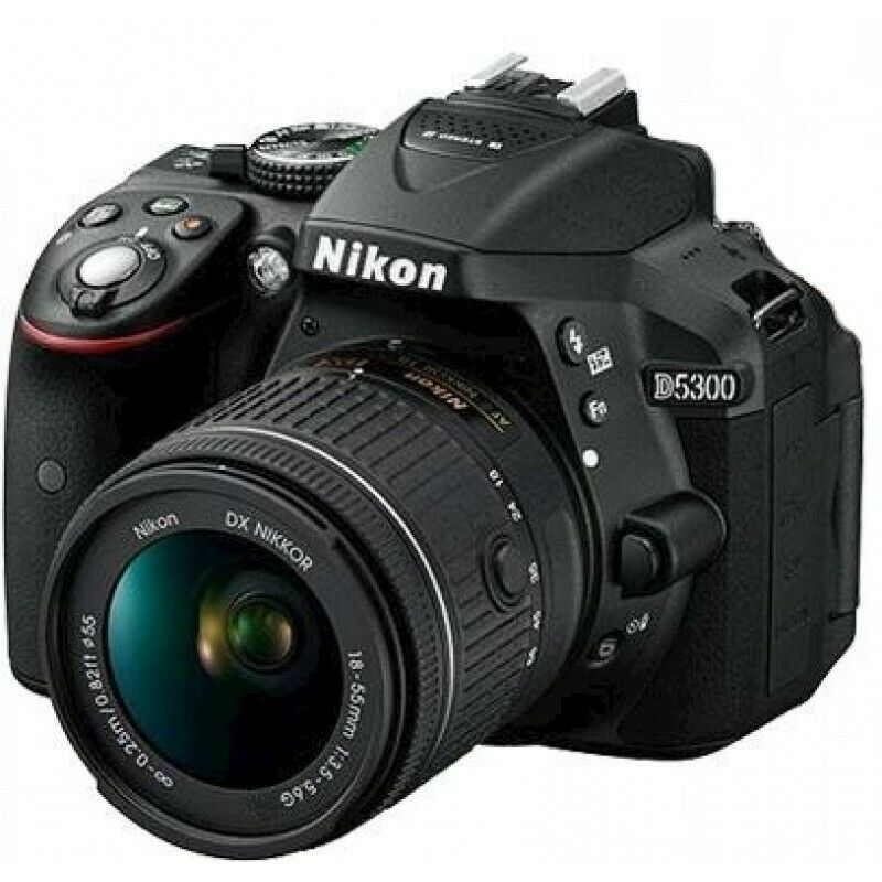 Nikon D5300 Camera with AF-S 18-55mm F3.5-5.6G ED II Lens  (Trade ins Welcome - 021 945 1606)