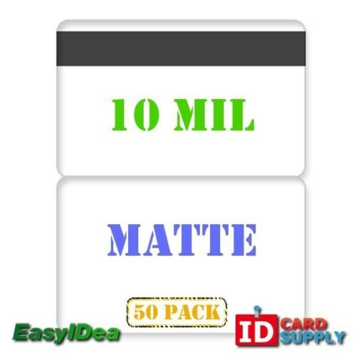5010 mil Matte Butterfly Laminating Pouch with Hi-Co Magnetic Stripe QTY