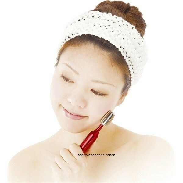 JAPAN NEEDS PLATINUM GOLD FACE/FACIAL MASSAGE/ESTHE SKIN BEAUTY ROLLER ANTIAGING
