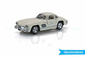 1954-Mercedes-Benz-300-SL-Coupe-Beige-1-36-scale-Diecast-hobby-model-classic-car