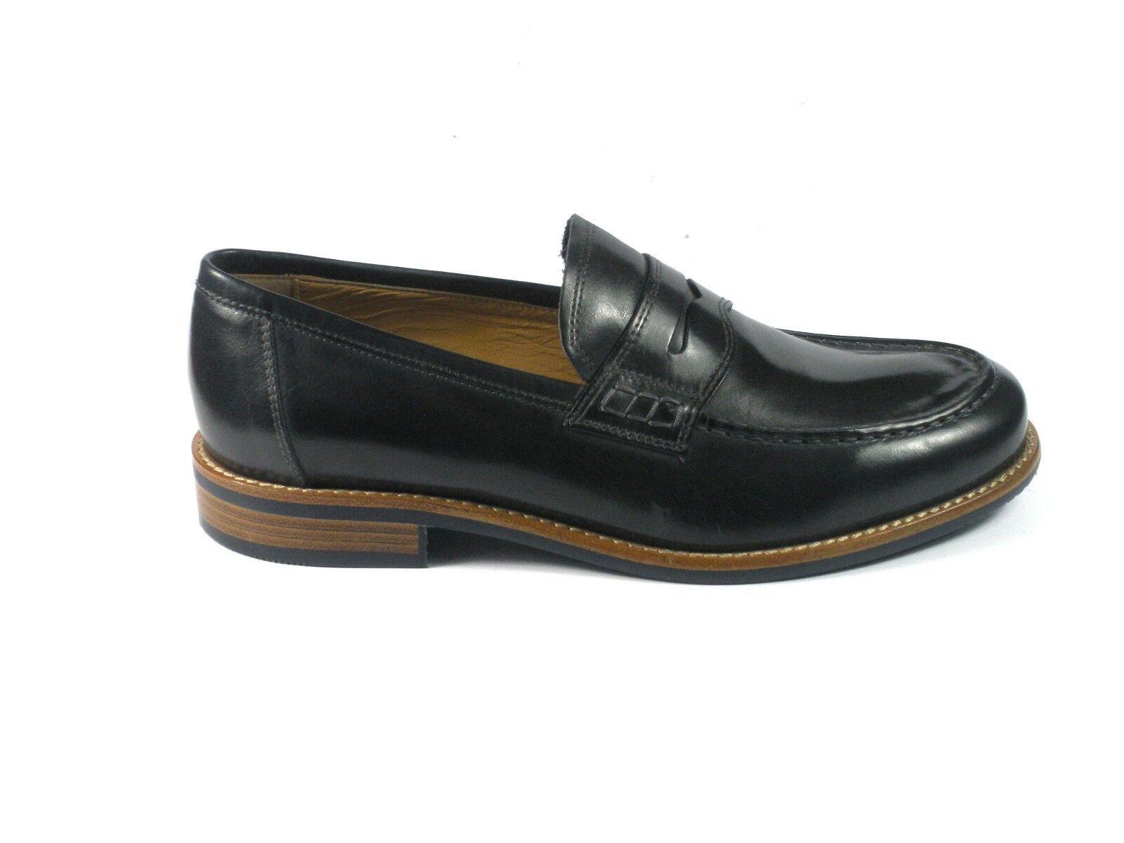 noir GIARDINI hommes chaussures P800195U MOCASSINI PENNY  PELLE bleu PRIM. ESTATE 2018