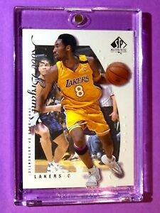 Kobe-Bryant-MINT-SP-AUTHENTIC-1999-00-UPPER-DECK-HOT-LAKERS-8-JERSEY-Rare