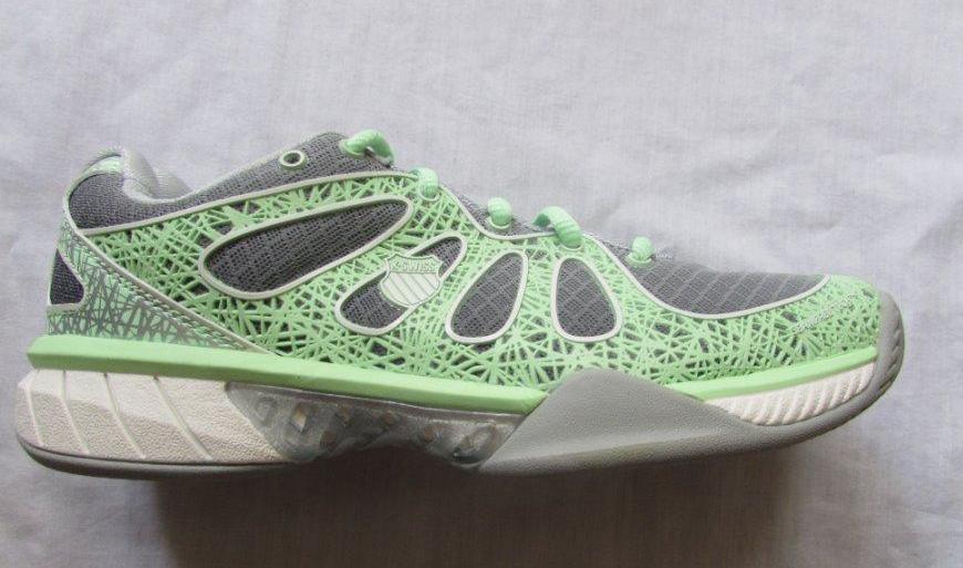 K-SWISS Damenss tennis 7.5 ultra express gray patina green tennis Damenss schuhe NEW 105 a2cd19