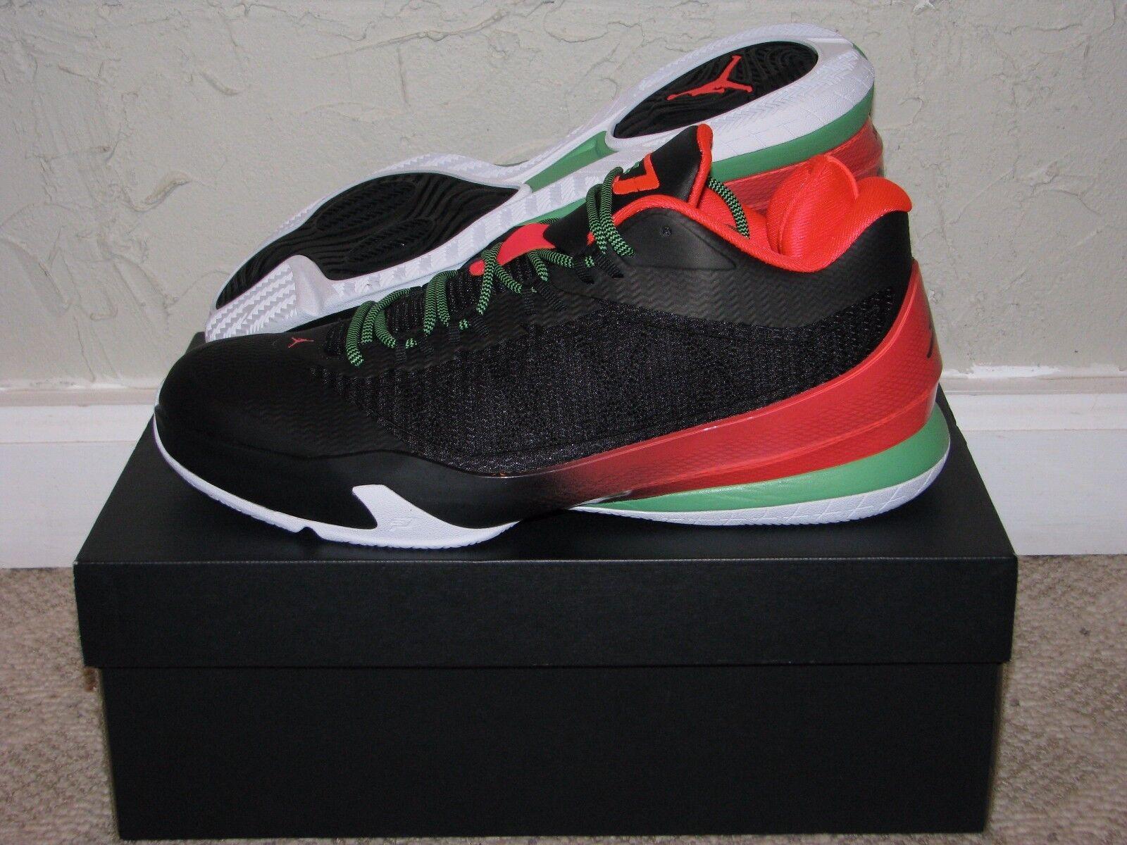 Nike Air Jordan CP3 VIII 8 Blk Infrared Mens Size 10 DS NEW  VI VII Chris Paul