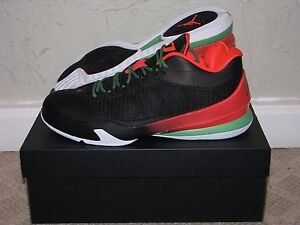 5788146612c1 Nike Air Jordan CP3 VIII 8 Blk Infrared Mens Size 10 DS NEW! VI VII ...