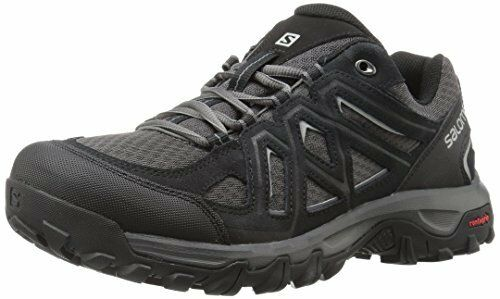 Salomon Mens EVASION 2 Aero Black Hiking Shoes Size 8.5