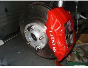 Details about Lexus LS400 95-00 Front Brake Calipers Pair Sumitomo BBK Red  SC300/SC400