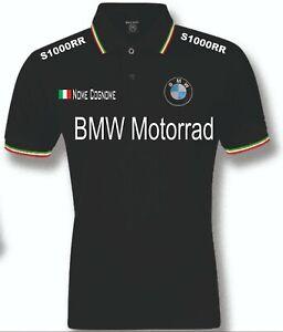 POLO-UOMO-BMW-S1000RR-mens-woman-unisex-S-M-L-XL-XXL-personalizzato