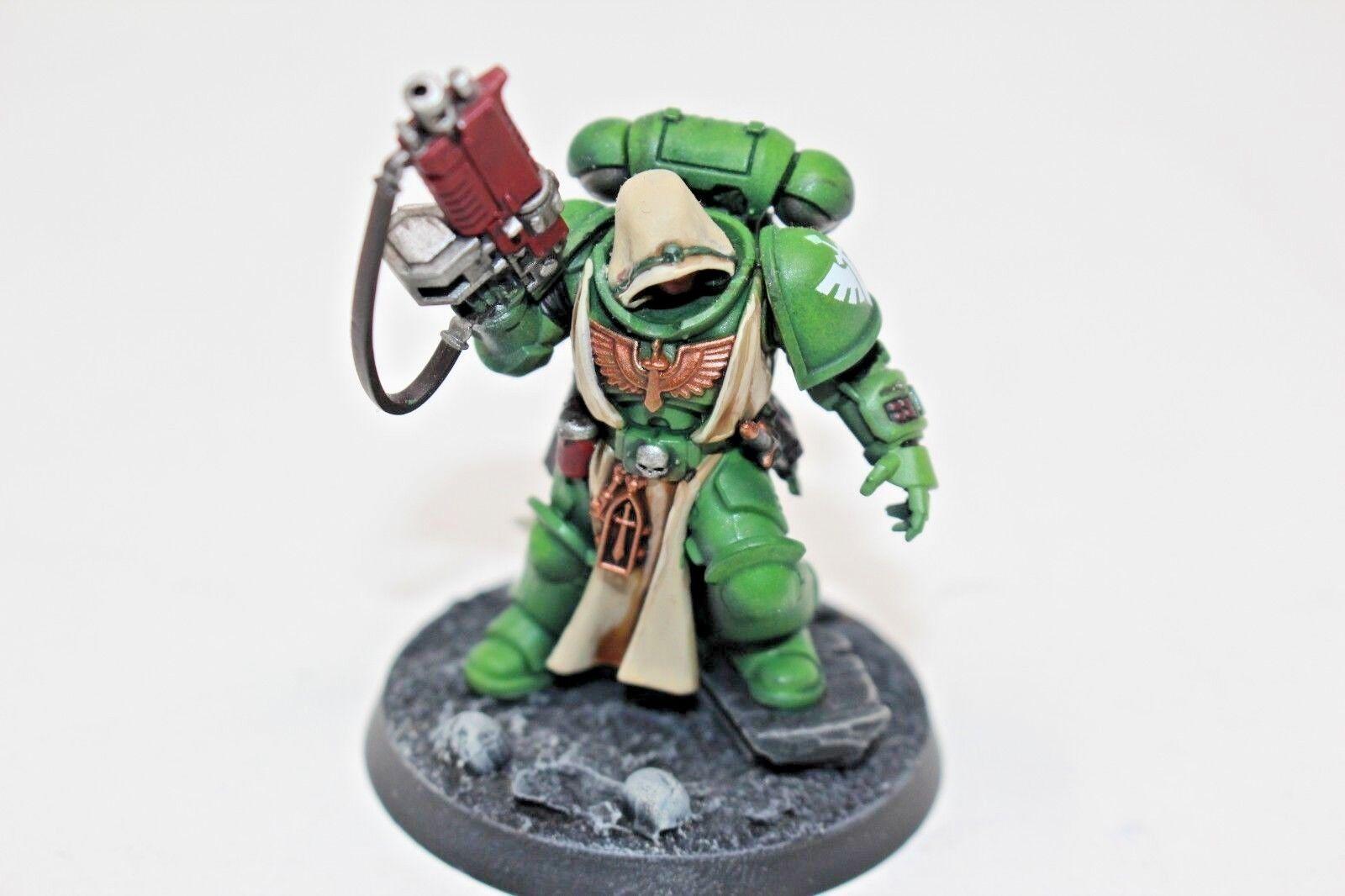Warhammer spazio Marines Dark Angels Primaris Lieutenant Well  Painted - JYS72  outlet