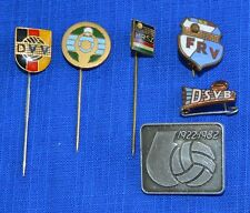 Lot of 6 pcs. World Sport VOLLEYBALL Clubs Pin BADGES