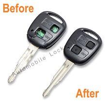 For Toyota Yaris Estima Lucida Previa 2 / 3 Button Remote Key Fob REPAIR SERVICE