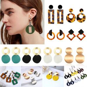 Boho-Geometric-Women-Leopard-Round-Dangle-Drop-Hook-Ear-Stud-Earrings-Jewelry