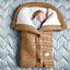 Indexbild 10 - Baby Kinderwagen Winter Einschlagdecke Wickeldecke Schlafsack Decke für Warme