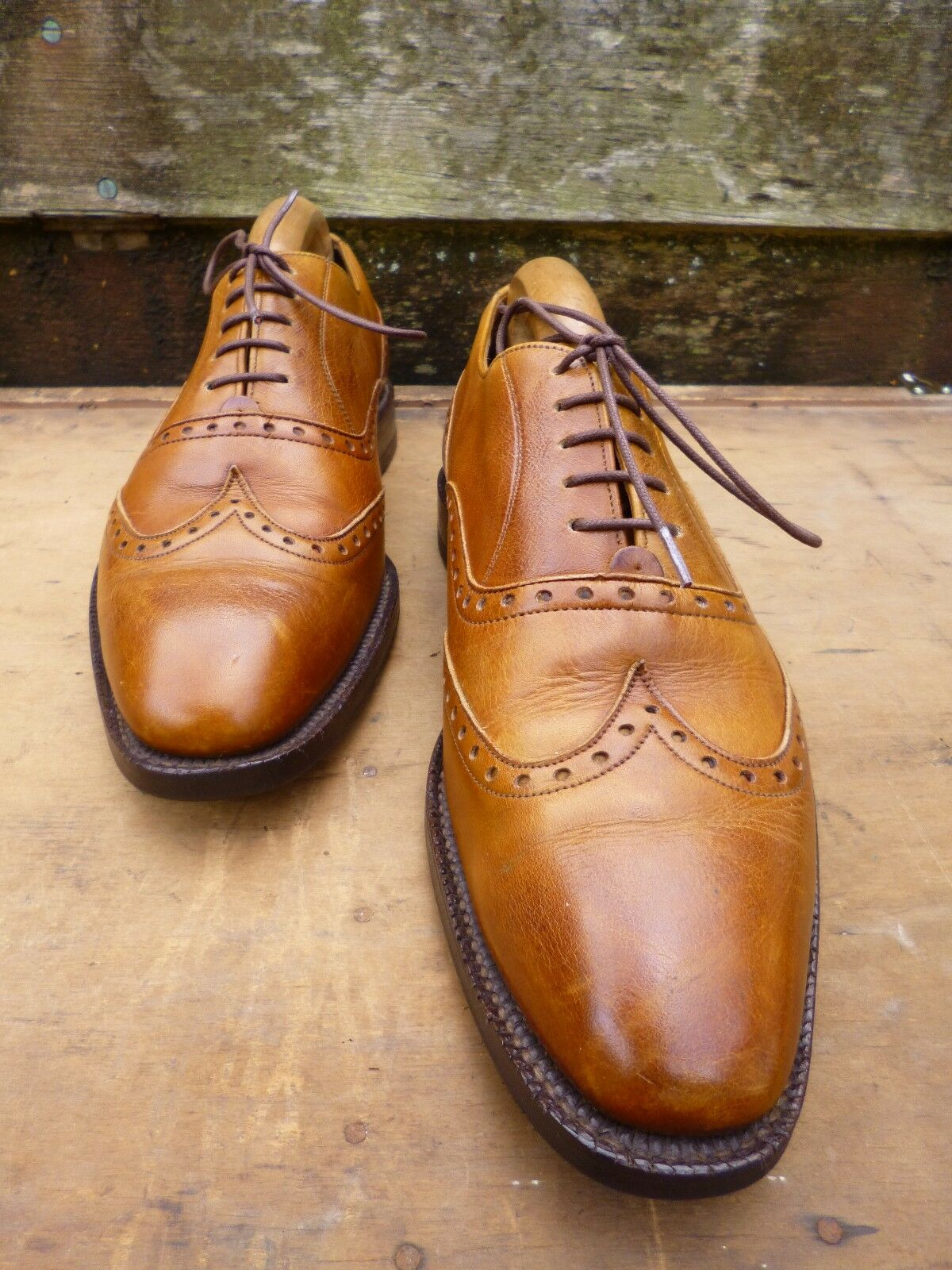 CHEANEY / CHURCH CHURCH CHURCH BROGUE – BROWN / TAN – UK 7 –  EXCELLENT CONDITION 687dca