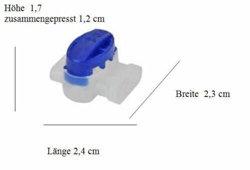 50-500 Cable Connector 3m SCOTCHLOK 314 Husqvarna Automower Original Box Rabat