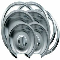 Range Kleen 1056rge8 Ge Hinged Drip Pans And Trim Rings Containing 2 Units 105a, on sale
