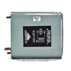 Vintage-Triad-HSM-307-Filter-Reactor-Transformer-15H-120mADC-185ohm-10VRMS-60CPS