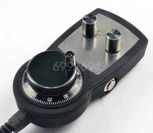 New Electronic Hand Wheel Encoder Handwheel Pluse Generator CNC Router 5V 100PPR