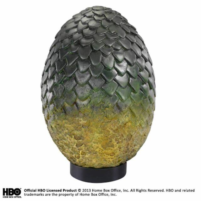 Game Of Thrones Rhaegal Dragon Egg Collezionisti Figurina - Inscatolato Dipinto