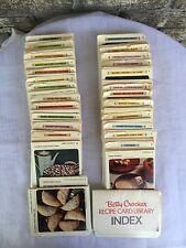Betty Crocker Recipe Cards 1971. Incomplete. Huge Assortment.
