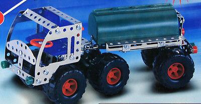 Suche Nach FlüGen Combined Excelled Konstruktionsset Metallbausatz Metall Lkw Tankwagen Spielzeug Blechspielzeug