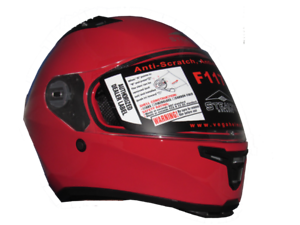 c0c20e9b Image is loading Vega-Stealth-F117-Full-Face-Motorcycle-Helmet-Red