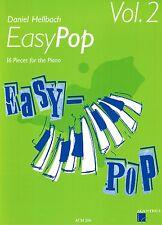 Klavier Noten : EASY POP Heft 2 (Daniel HELLBACH) - leichte Mittelstufe - ACM206