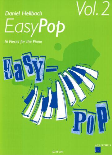 - leichte Mittelstufe ACM206 Klavier Noten : EASY POP Heft 2 Daniel HELLBACH