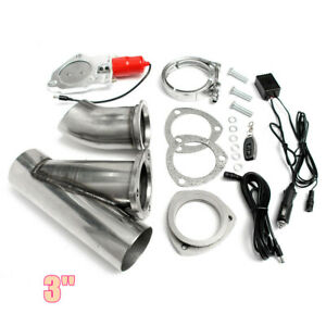 3-034-MASO-Exhaust-Catback-Downpipe-Cutout-E-Cut-Valve-System-Electric-Control-Kit