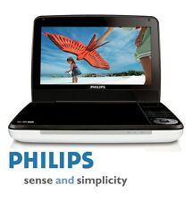 "ALL REGION FREE PHILIPS PD9000 9"" LCD PORTABLE MULTIZONE DVD PLAYER 5 HR BATTERY"