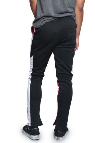 TR586-KK3E Men/'s Contrast Drawstring Jogger Sports Workout Techno Trackpants