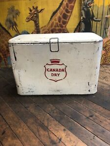 VINTAGE-CANADA-DRY-A2-COOLER-SIGN-COCA-COLA-7UP-PEPSI-ORANGE-CRUSH-DR-PEPPER