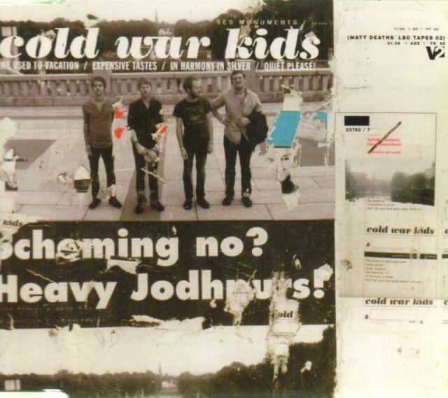Cold War Kids(CD Single)We Used To Vacation-2006-New