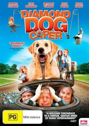 1 of 1 - DIAMOND DOG CAPER, FRENCH STEWART REGION 4, NEW AND SEALED FREE POST