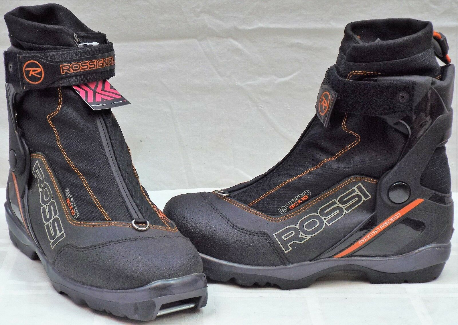 Rossignol BC X10 New Men's Cross  Country Ski Boots Size 41.0 Eu 8.0 US  on sale