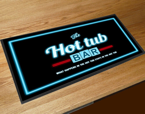The Hot Tub Bar Retro neon style party bar runner pubs clubs Cocktail bars
