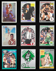 1990-91 NBA Hoops Basketball Cards (253-438) - Pick your Card