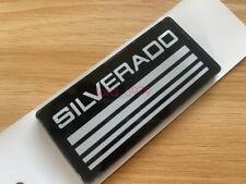 2pcs Chevy Silverado Emblems Side Bodycab Pickup Truck Badges Sign Symbol Logo