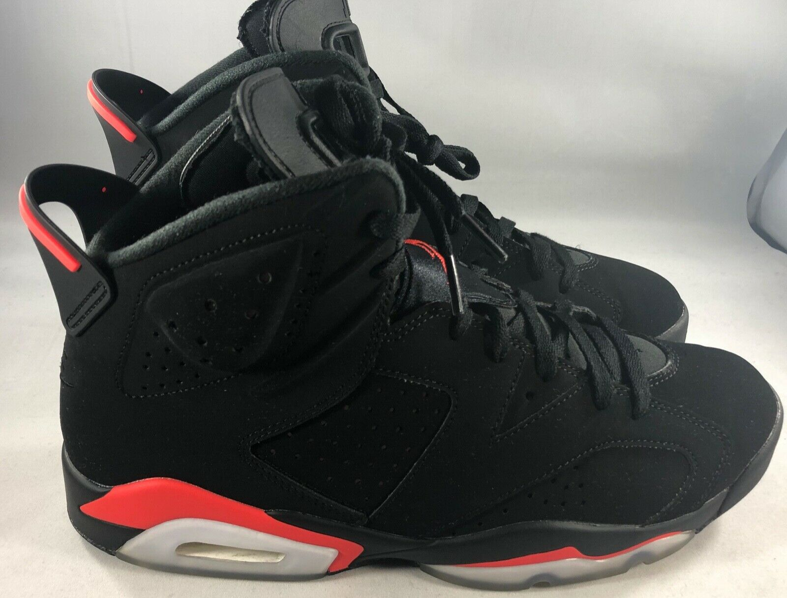 Used Air Jordan 6 Retro  Infrared  2019 (384664 060) Size 11