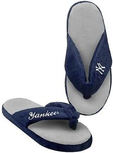 99a5184f448d0f New York Yankees MLB Licensed Women s Flip Flop Thong Slipper Adult ...