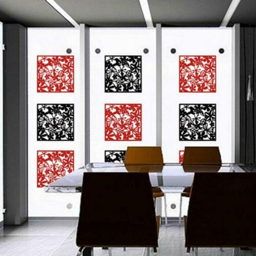 4x Schmetterlingsvogel Blume hängender Bildschirm Raumteiler Panel Home