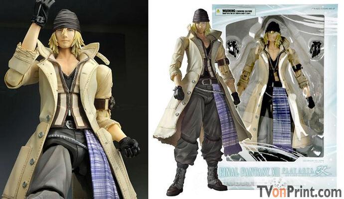 Final Fantasy XIII Snow Play Arts Kai Action Figure Final Fantasy 13 - NEW