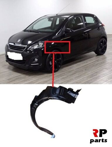 FOR PEUGEOT 108 14-18 C1 14-18 NEW FRONT WING ARCH MUD SPLASH GUARD LEFT N//S