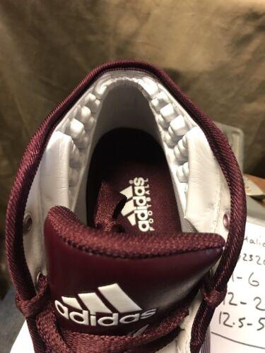 Maroon G22975 da Nuove Malice calcio da 2 Fly White uomo tacchette Adidas Softball ppwzq