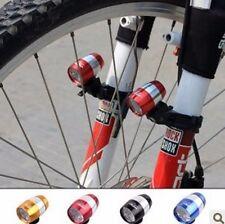 1PCS Bike Bicycle Headlight Front LED Lights With Lamp Clip Mini MTB Flashlight