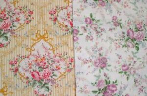 2-Half-Yard-Pieces-from-Sweet-Charms-Collection-Quilt-Gate-100-Cotton-Fabrics