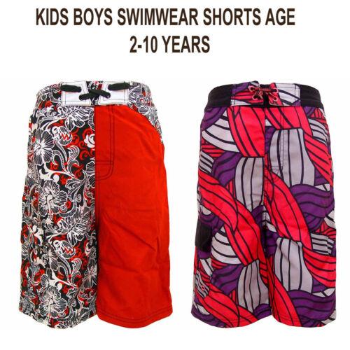 BOYS KIDS ADAMS EX-CHAINSTORE  SHORTS SWIMWEAR AGE 2-10 YEARS