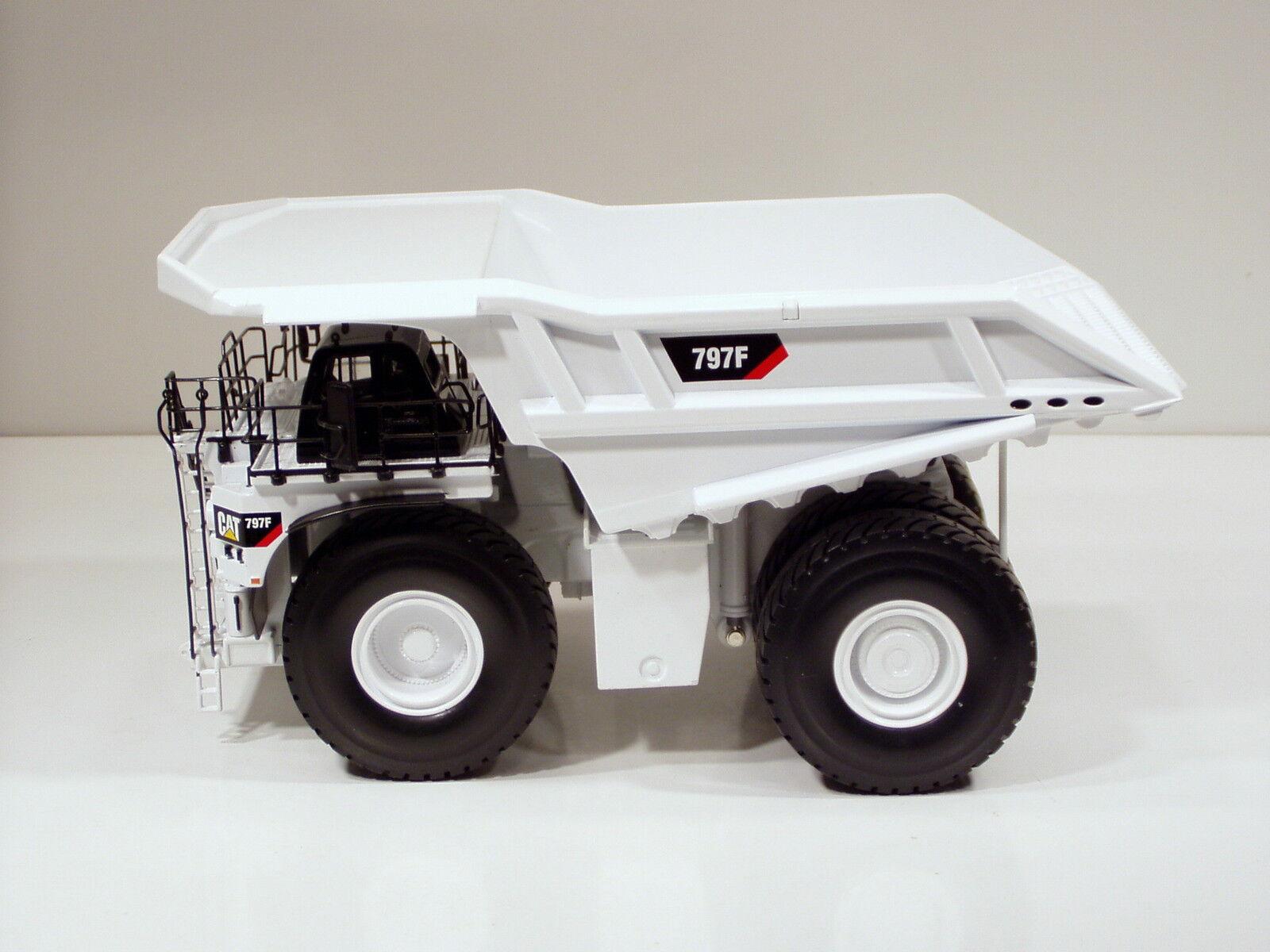 Caterpillar 797f Dump Truck - blanco - -Norscot  55243 - 2500 hecho